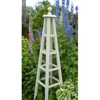 Vegetable Garden Wooden Obelisk
