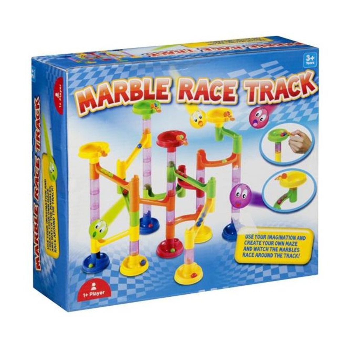 Marble Race Track Marble race, Race track, Racing
