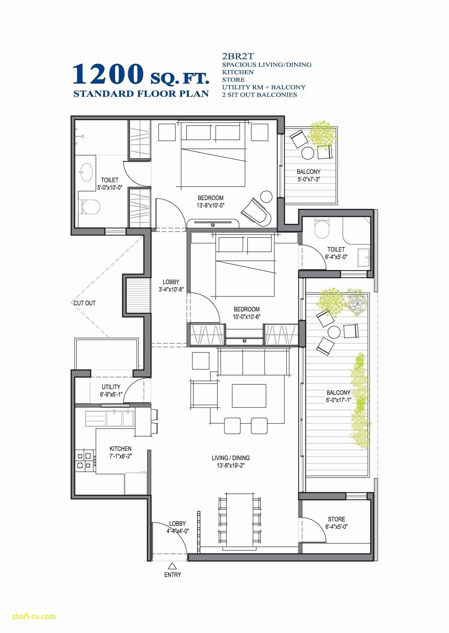 1500 Sq Ft Modern House 2021 Modern House Floor Plans Small House Floor Plans Basement House Plans