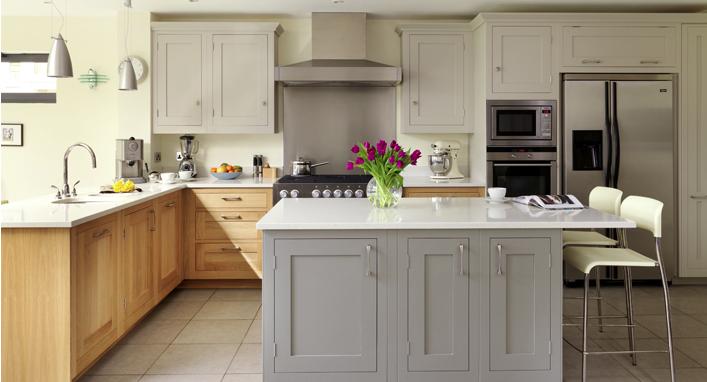 Grey And White Shaker Shaker Style Kitchen Cabinets Contemporary Kitchen Cabinets Shaker Kitchen Design
