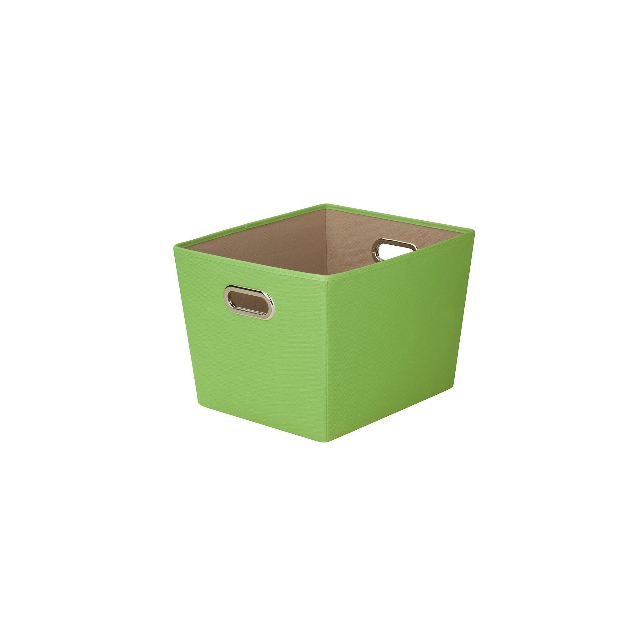 Honey Can Do Nesting Storage Bin   Medium, Green