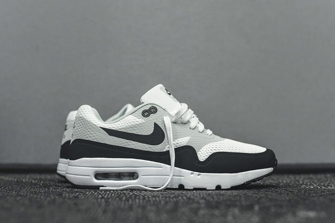Baskets Nike Air Max 1 Ultra Pure Platinum Rouge d1QN3I