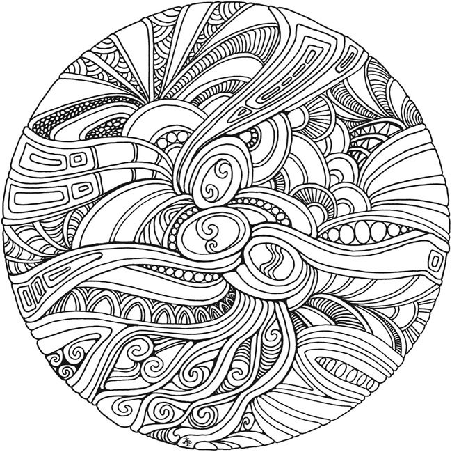 Dover Publications Free Sample Coloring Page Printable Creative Haven Entangled Book
