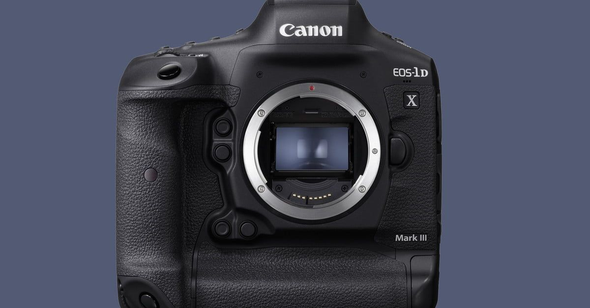 Canon S Eos 1d X Mark Iii Wants To Squash Mirrorless With 20 Fps 10 Bit Color Eos Digital Trends Best Dslr