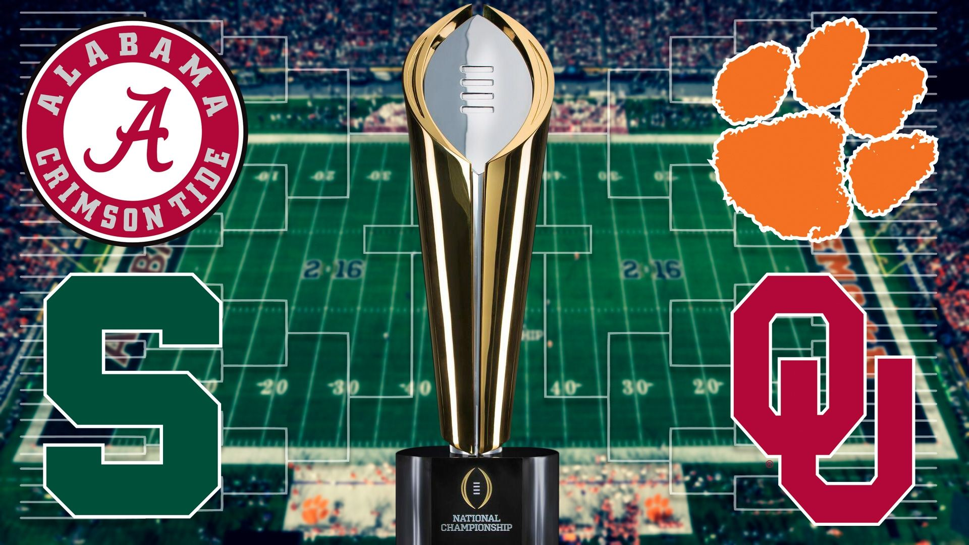 If College Football Had A 68 Team Bracket Playoff Bracket This Is What It Would Look Like