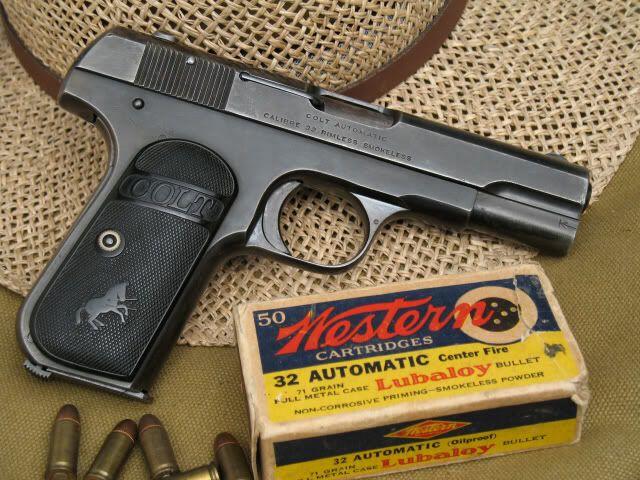 Colt 1903  32 ACP | Projectile Devices | Hand guns, Guns