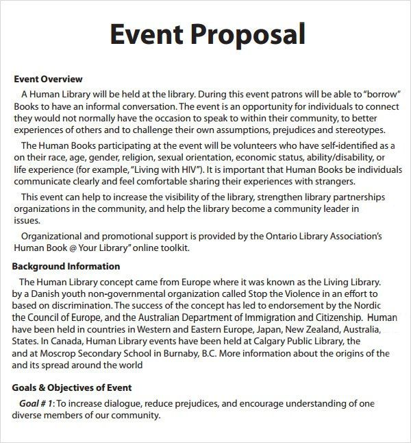 How To Write Event Proposal Pdf - Best opinion Money and Fun