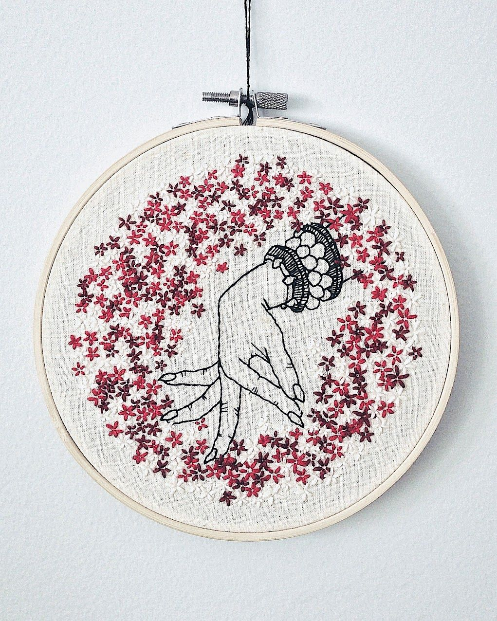 Vorn Vann is an embroidery artist from Ontario Canada