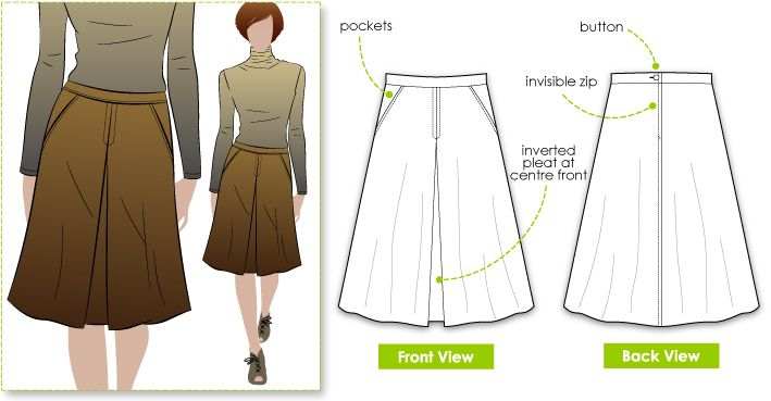 17 Best images about Skirt patterns on Pinterest | A line ...