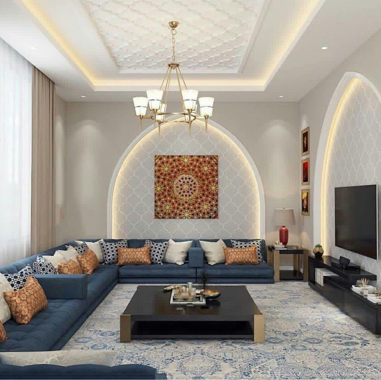مجلس الملحق Floor Seating Living Room Living Room Design Decor Moroccan Living Room
