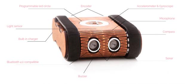 Codie – персональный робот, который научит ваших детей программировать