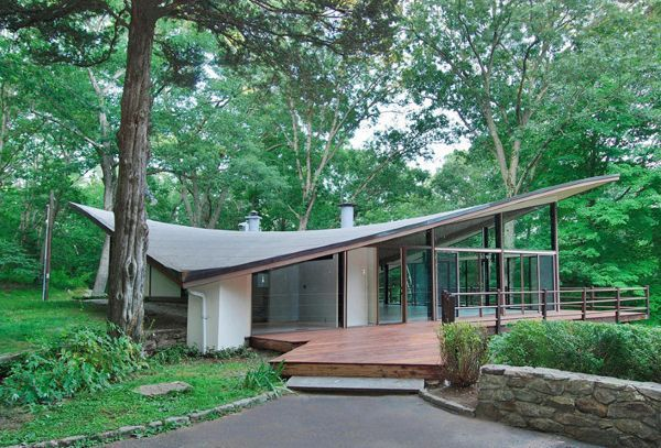 Mid century in New Canaan by James Evans