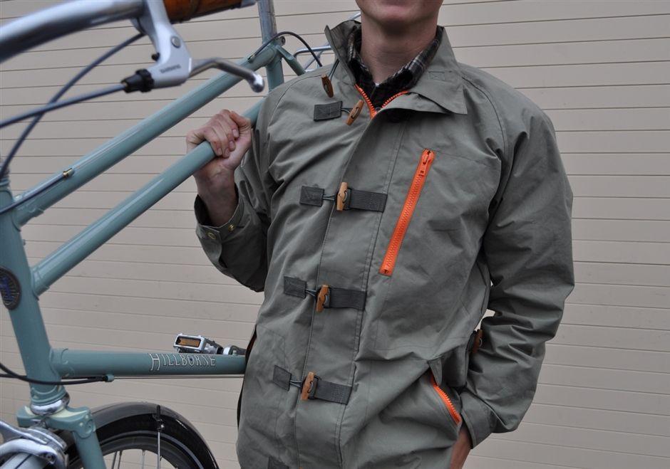 Rivendell English Jacket Waterproof Cotton Bicycle