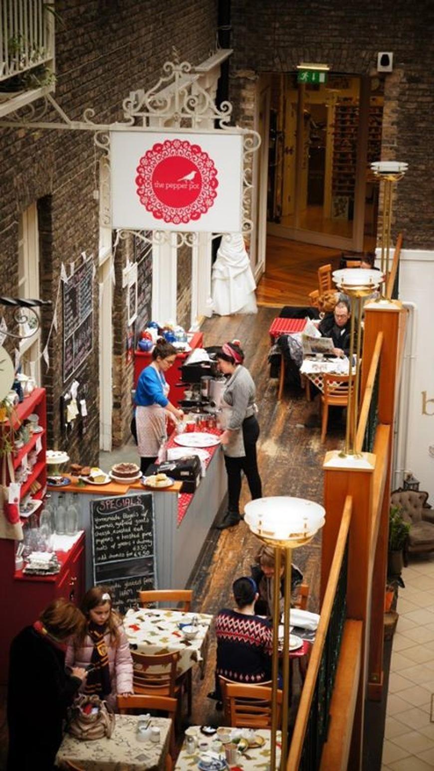 Pepperpot café in Dublin's Powerscourt Centre