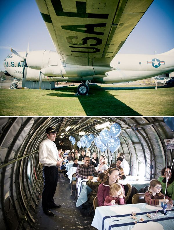 Vintage Airplane Inspired Birthday Party Airplanes Vintage