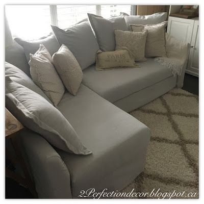 Deciding on a sectional sofa for our small space - Ikea Holmsund ...