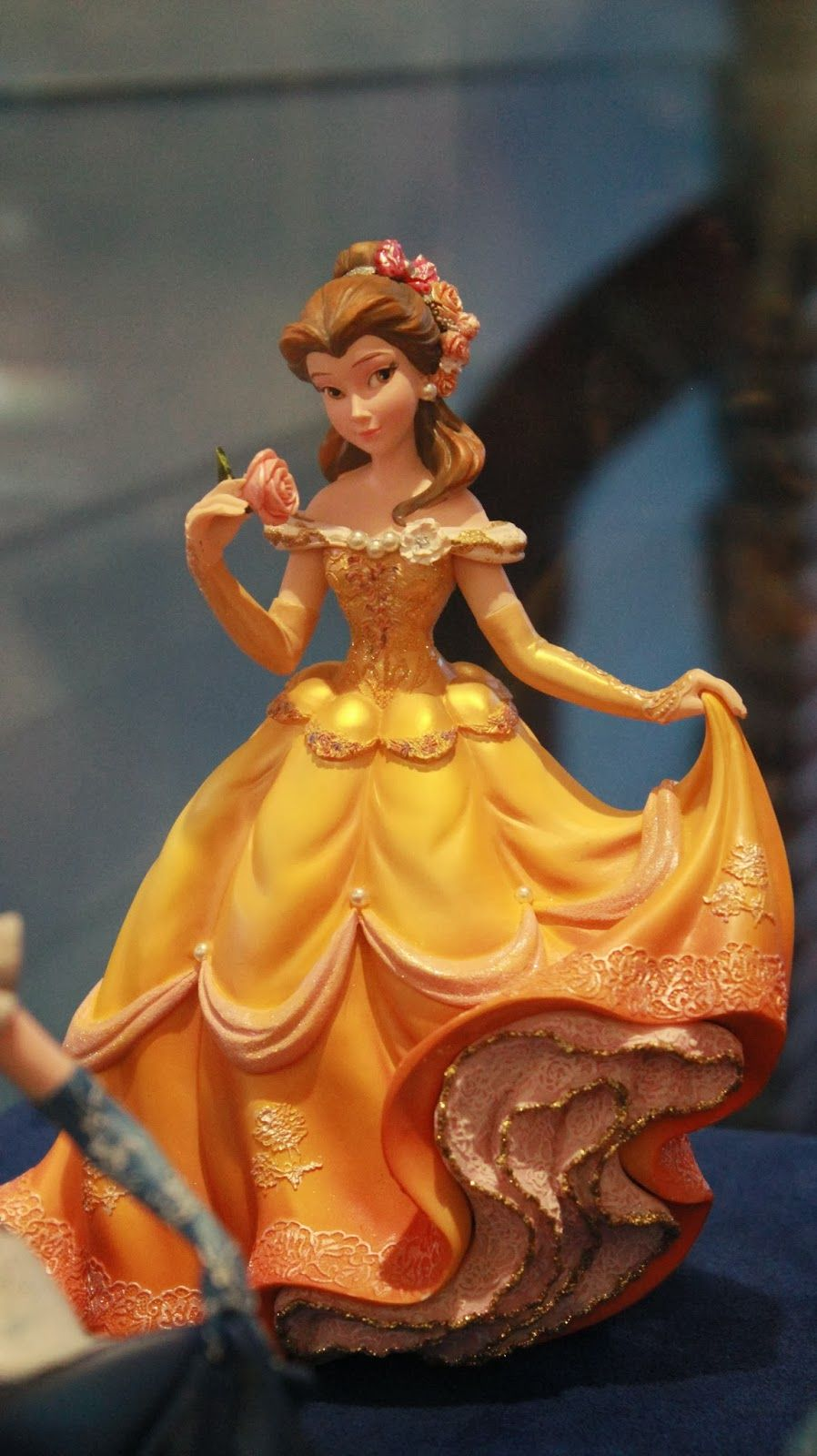 Belle ornament disney - Belle Disney Princess Figurine 65 00 At The Art Of Disney In Disneyworld