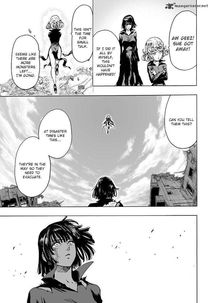 Onepunch Man Chapter 106: Sisters 2 Page 12 (Fubuki and