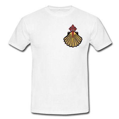 Saint Jacques de Compostelle   T-shirt Homme   May 16 Merch   Shirts ... b7f93f975d6e