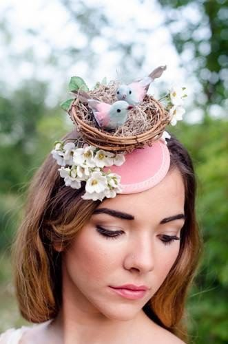 Bird Fascinator Hat Dubai World Cup Hat by RubyandCordelias ... 13e445c8a9e