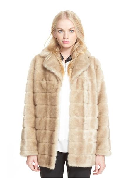 katespade new yorkfauxfur bow detailteddy bear coat - was $798.0, now $598.0 (25% Off) @ Nordstrom