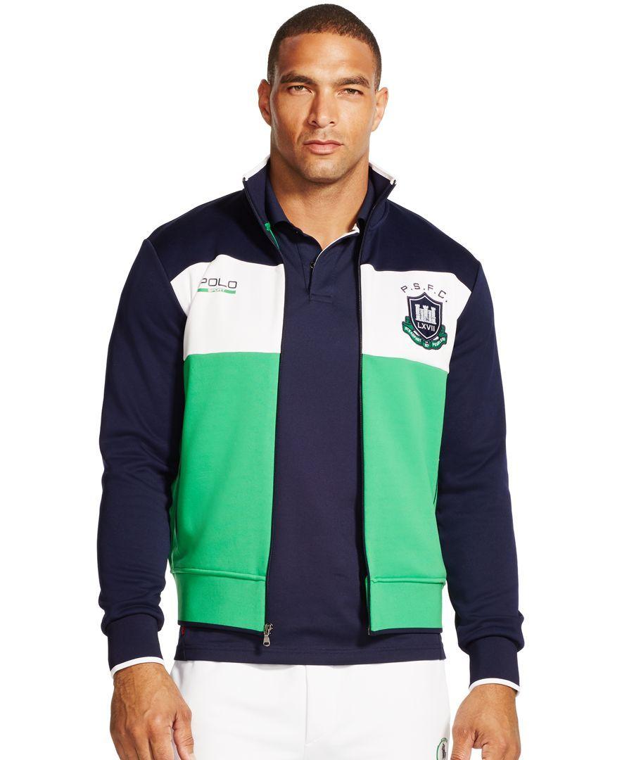 Polo Ralph Lauren Fleece Track Jacket My tastes in