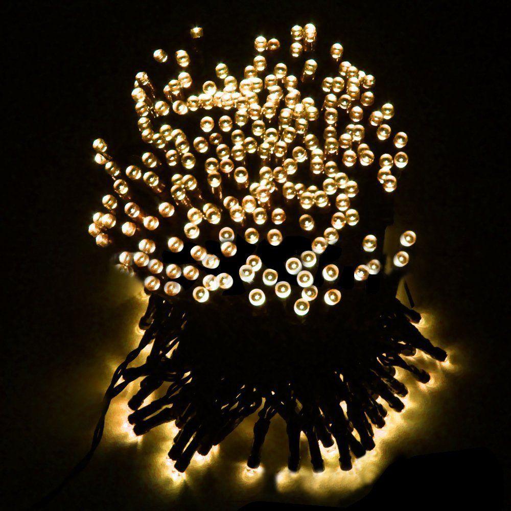 LightHome 12 m 100 LED solaire Décorations de No l lumineuses