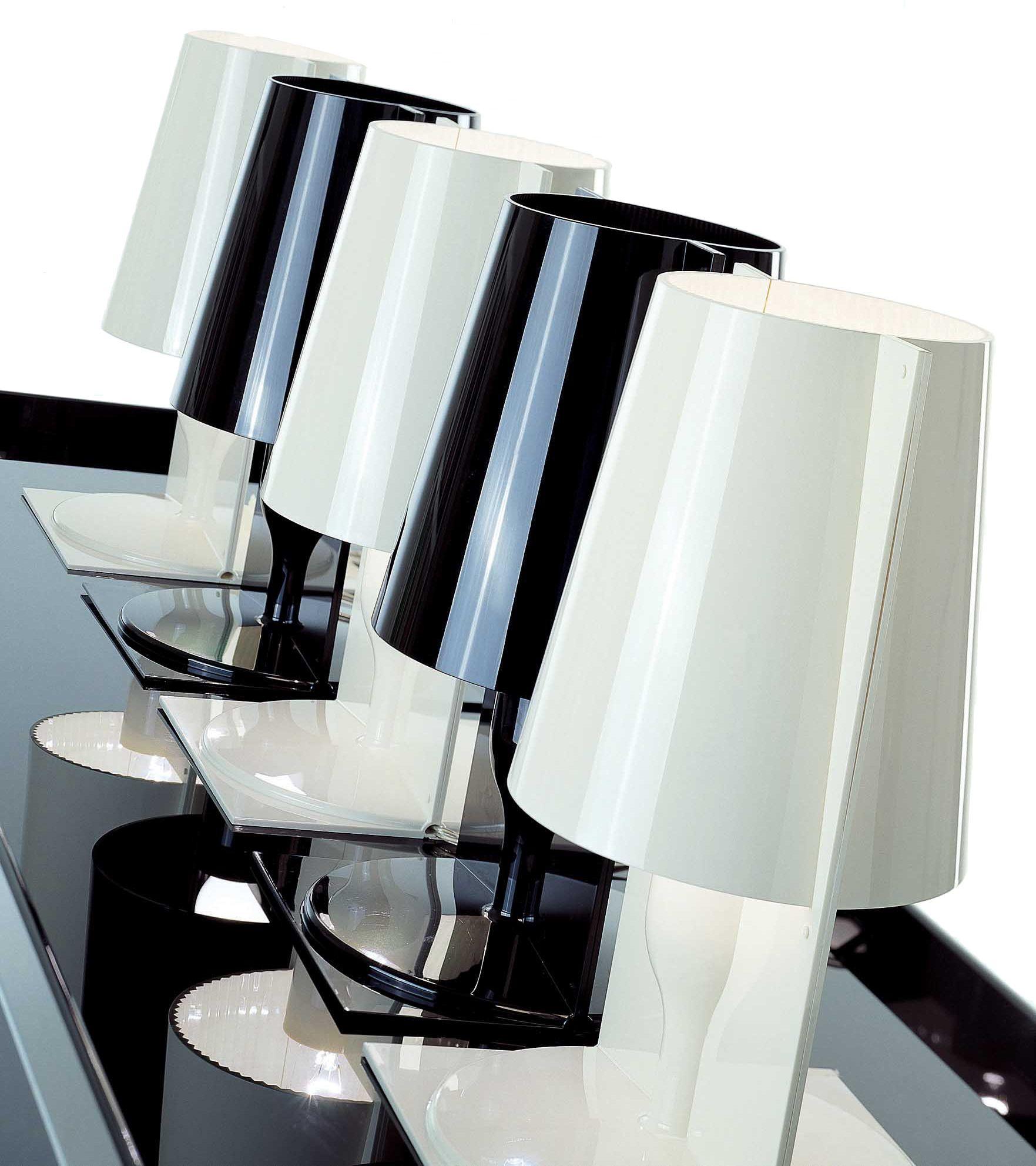 Lampe De Table Take Kartell Transparent Made In Design Lampe De Table Blanche Kartell Lampe