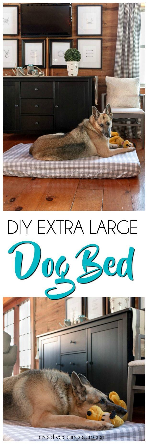 diy extra large dog bed   creative cain cabin   pinterest   large