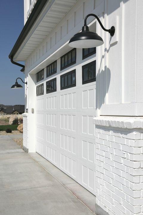 Modern Farmhouse Exterior Garage