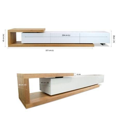 Dwell Scandinavian Lowline Tv Entertainment Interior Secrets Modern Tv Units Tv Entertainment Units Living Room Tv Unit Designs