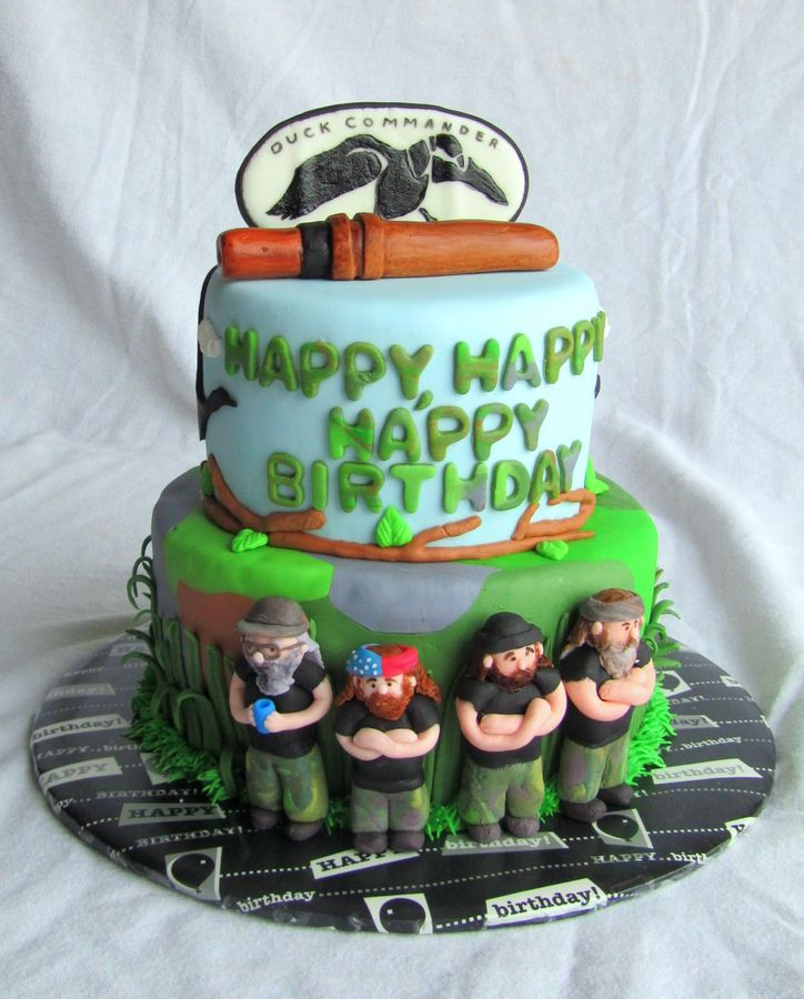 Southern Blue Celebrations Duck dynasty Birthdays and Cake