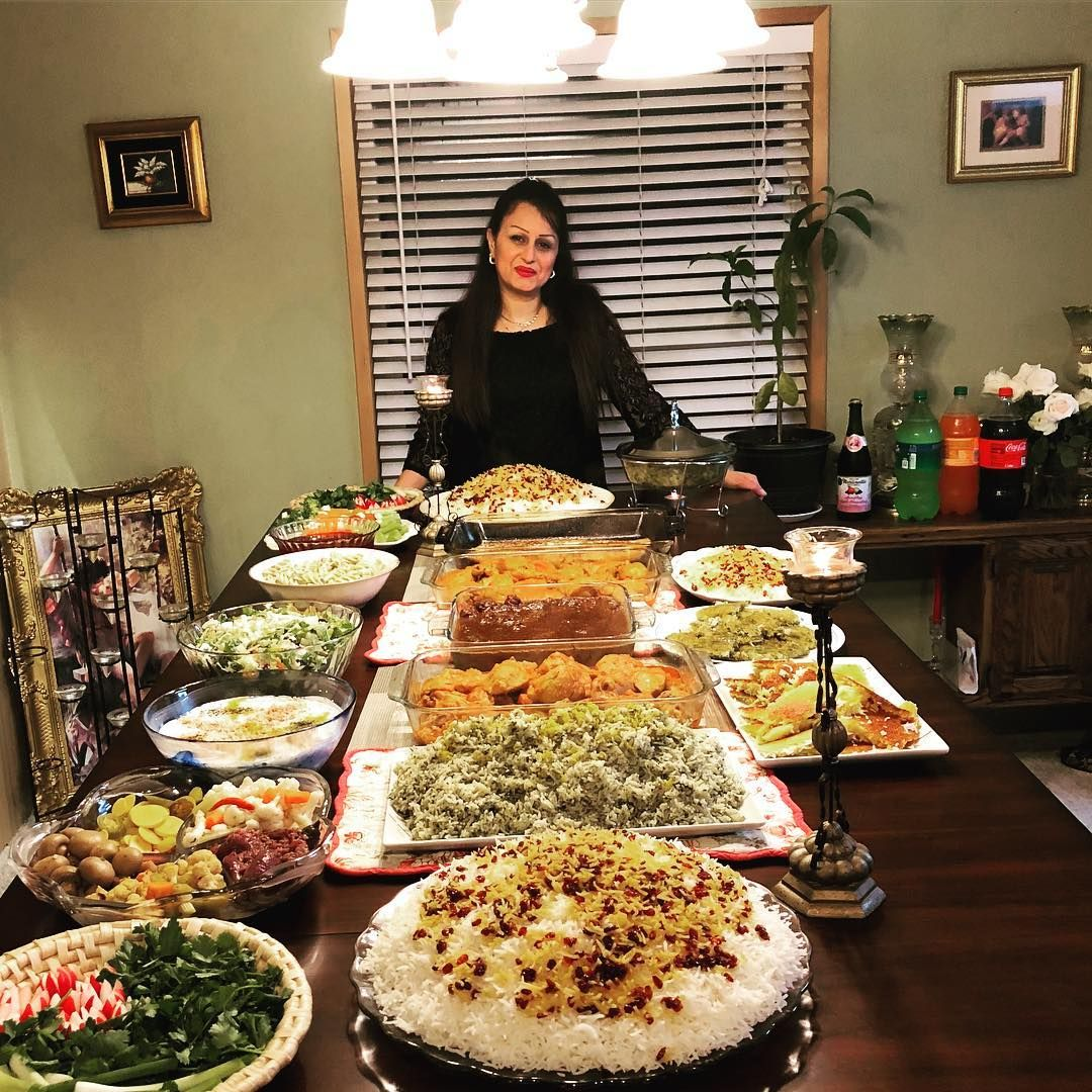 Befarmaid Sham A Small Persian Feast At Vishtacatering Today