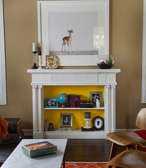 18 Ways to Dress Up Your Fireplace (No Fire Necessary) & 18 Ways to Dress Up Your Fireplace (No Fire Necessary) | General ...