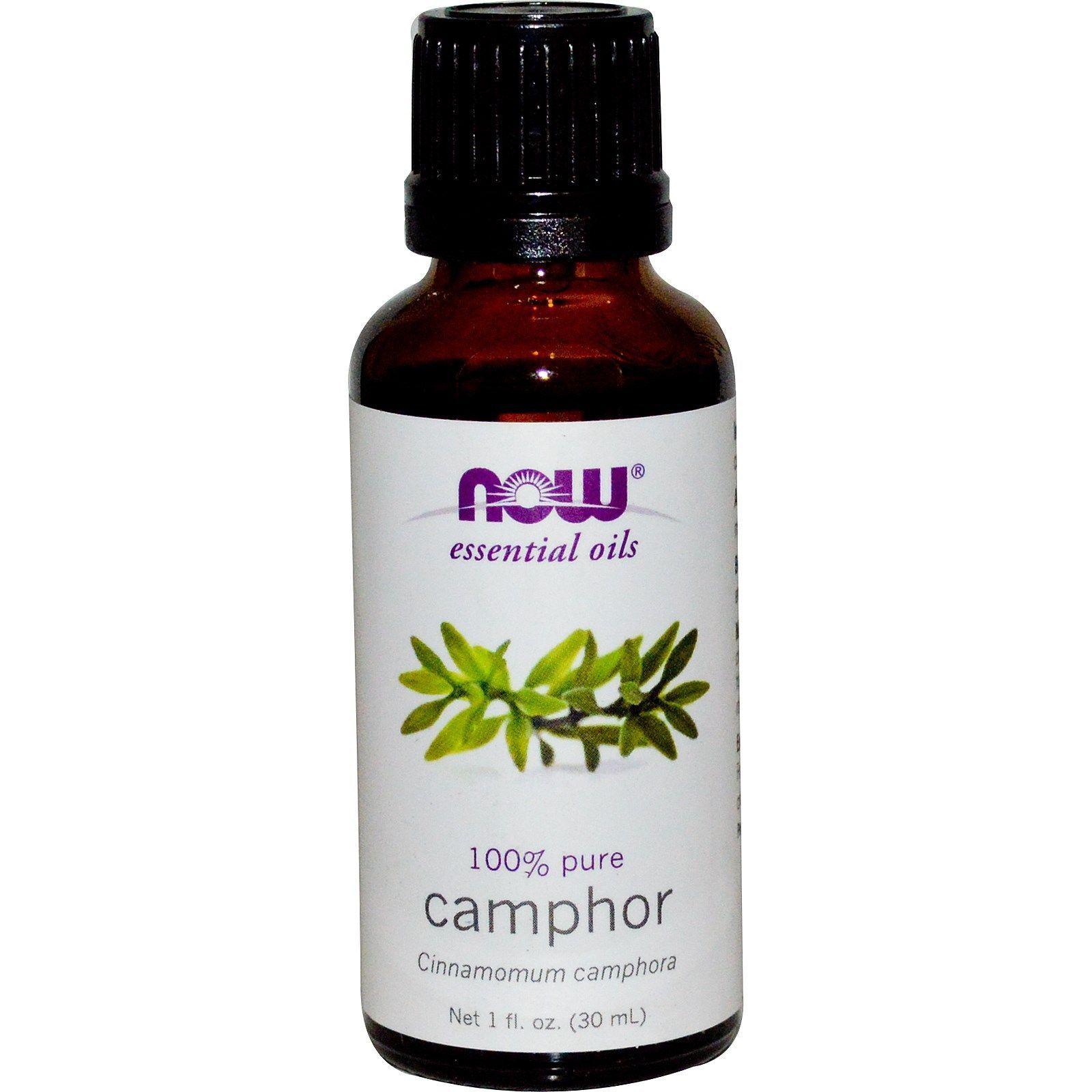Details about Camphor (100% Pure) 1 oz - NOW Foods ...