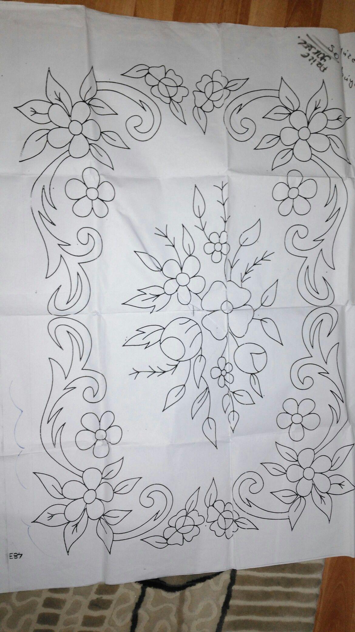 رسومات | شنطة ١ | Bordado, Dibujos para bordar, Bordado mandalas