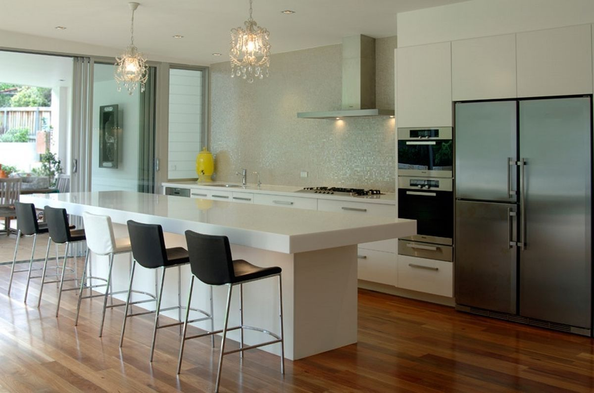 Pretty decor modern kitchen designs beautiful modern kitchens ideas