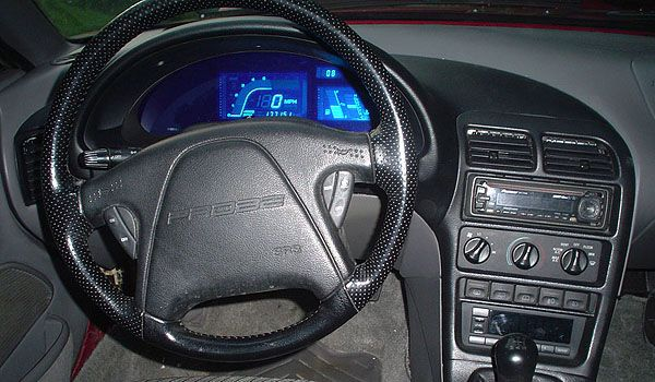 Diy Build Yourself A Custom Digital Instrument Cluster For Your Ford Probe Using Mercury Villager Panel Ford Probe Custom Car Interior Digital Instruments