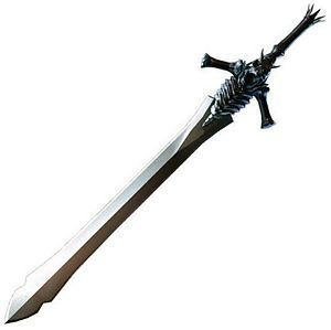 cool anime swords or clouds sword from advent children