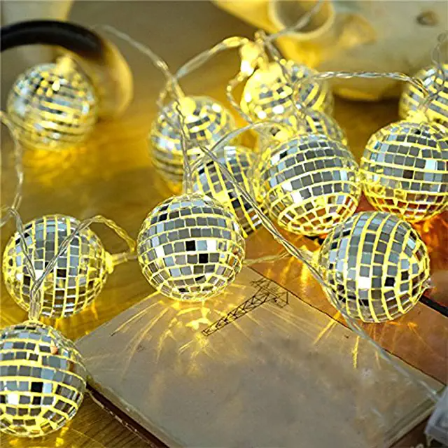 Amazon Com Disco Ball Light In 2020 Led Party Lights Led Disco Ball Disco Ball Light