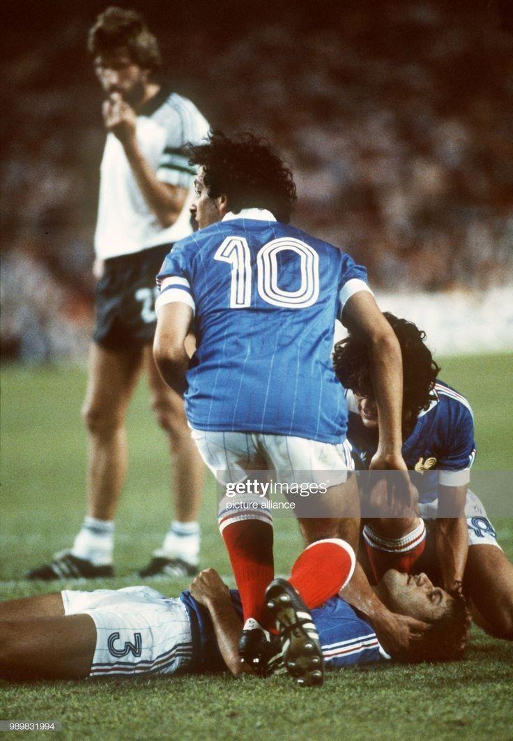 France vs Allemagne World Cup 1982 Équipe de france