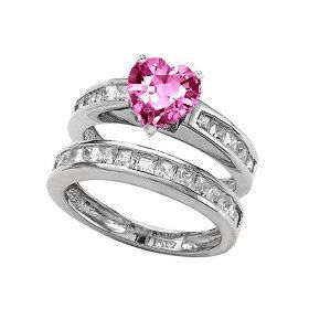 pink saphire hearts  | heart pink diamond with sapphire ring06 1 20 ct heart