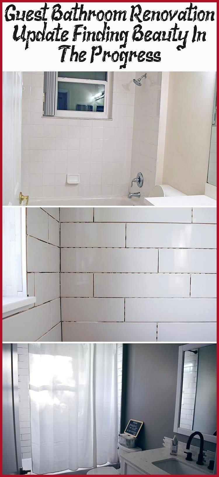 Guest Bathroom Ideas Gray and White Design Herringbone