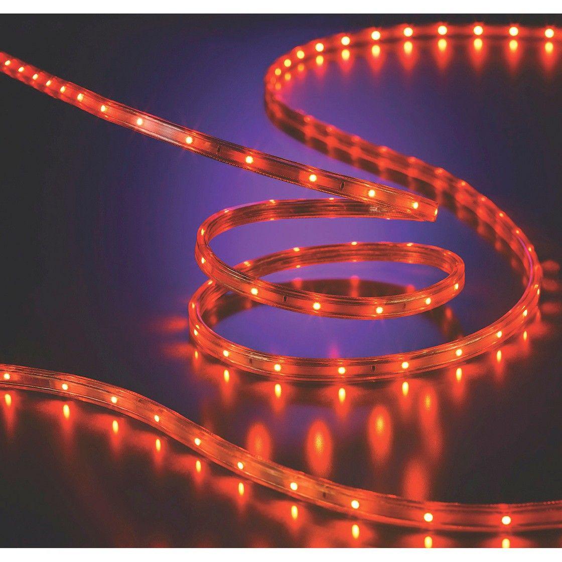 Philips flat rope lights orange 15ft halloween haunt party philips flat rope lights orange 15ft aloadofball Choice Image