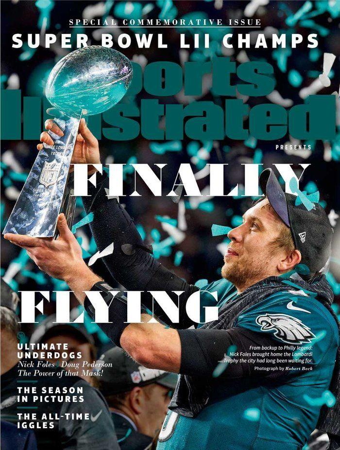 Purchase SI's commemorative Eagles covers Eagles super
