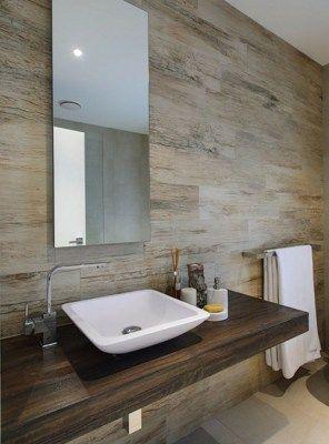 Mobile bagno mensola legno massello per lavabo appoggio 150x50x8 ...