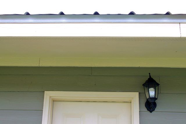 How To Clean A Fascia Soffit Ehow Diy Gutters Gutters Cleaning Gutters
