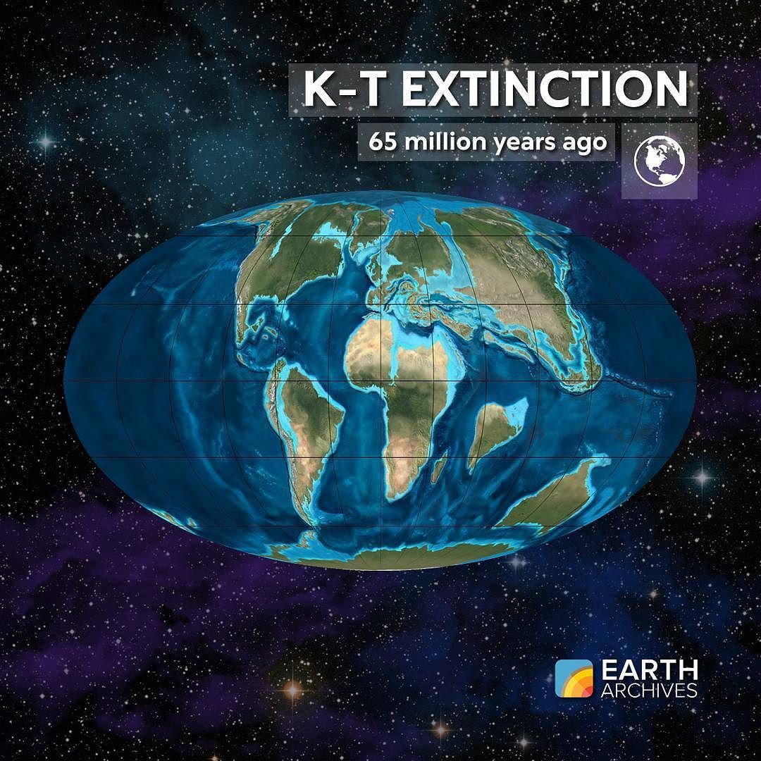 65 Million Years Ago Asteroid Impact