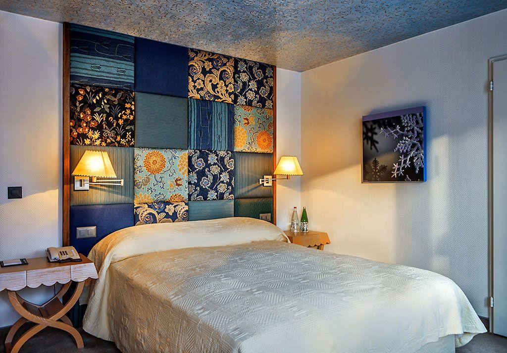 The Tschuggen Grand Hotel Lindo respaldo de cama Respaldo para cama ...