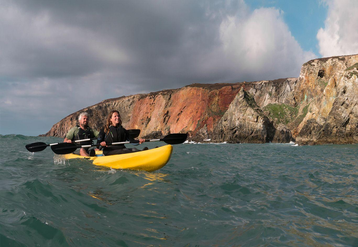 Koru Kayaking help out Exeter University student's project